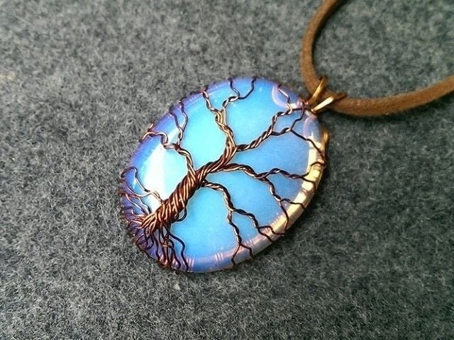 Pendant tree of life with big stone no holes how to make a pendant love this project add it to your favorites mozeypictures Image collections
