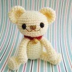 Milo Teddy Bear Amigurumi