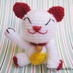 Lucky Cat Amigurumi
