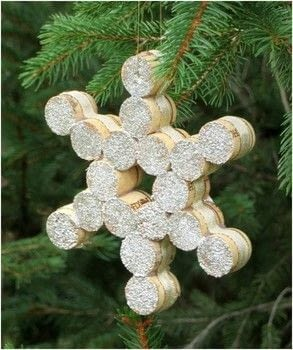 Great for ornaments or favors .  Free tutorial with pictures on how to make an ornament in under 30 minutes by not sewing with wine corks, drill, and glue gun. Inspired by christmas. How To posted by Jennifer P.  in the Other section Difficulty: 3/5. Cost: Absolutley free. Steps: 2