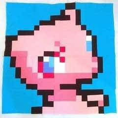 Pokemon Sew Along Block: Mew