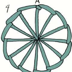 Buttonhole Wheel Stitch