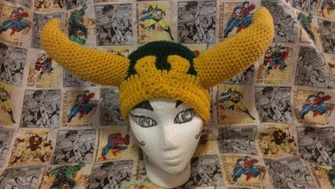 How about a little mischief.  .  Double Crochet  using yarn, yarn, and polyester stuffing. Creation posted by BobbieBomber.  in the Yarncraft section Difficulty: 3/5. Cost: Cheap.