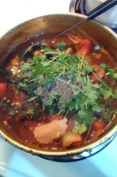 Or whatever you want to throw in the pot! Use up the stuff that's lying around! .  Free tutorial with pictures on how to cook chicken soup in under 90 minutes using pots, chicken, and whatever you want to add. Recipe posted by VillainousNinja.  in the Recipes section Difficulty: Simple. Cost: Cheap. Steps: 9