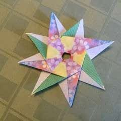 Origami Compass Star