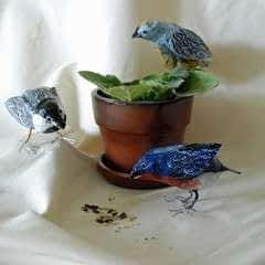 Papier Mache Birds
