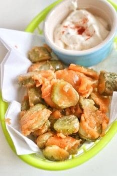 Make your own frickles aka fried pickles! .  Free tutorial with pictures on how to cook a snack in under 15 minutes by cooking with pickles, dip, and flour. Recipe posted by Cat Morley.  in the Recipes section Difficulty: Simple. Cost: Cheap. Steps: 5