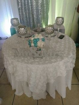 TIFFANY BLUE WEDDING .  Free tutorial with pictures on how to sew  in 5 steps using measuring tape, hot glue gun sticks, and sewing pins. How To posted by MIMI_MEKA.  in the Other section Difficulty: 3/5. Cost: 3/5.