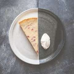 Yorkshire Curd Tart With Yorkshire Rhubarb