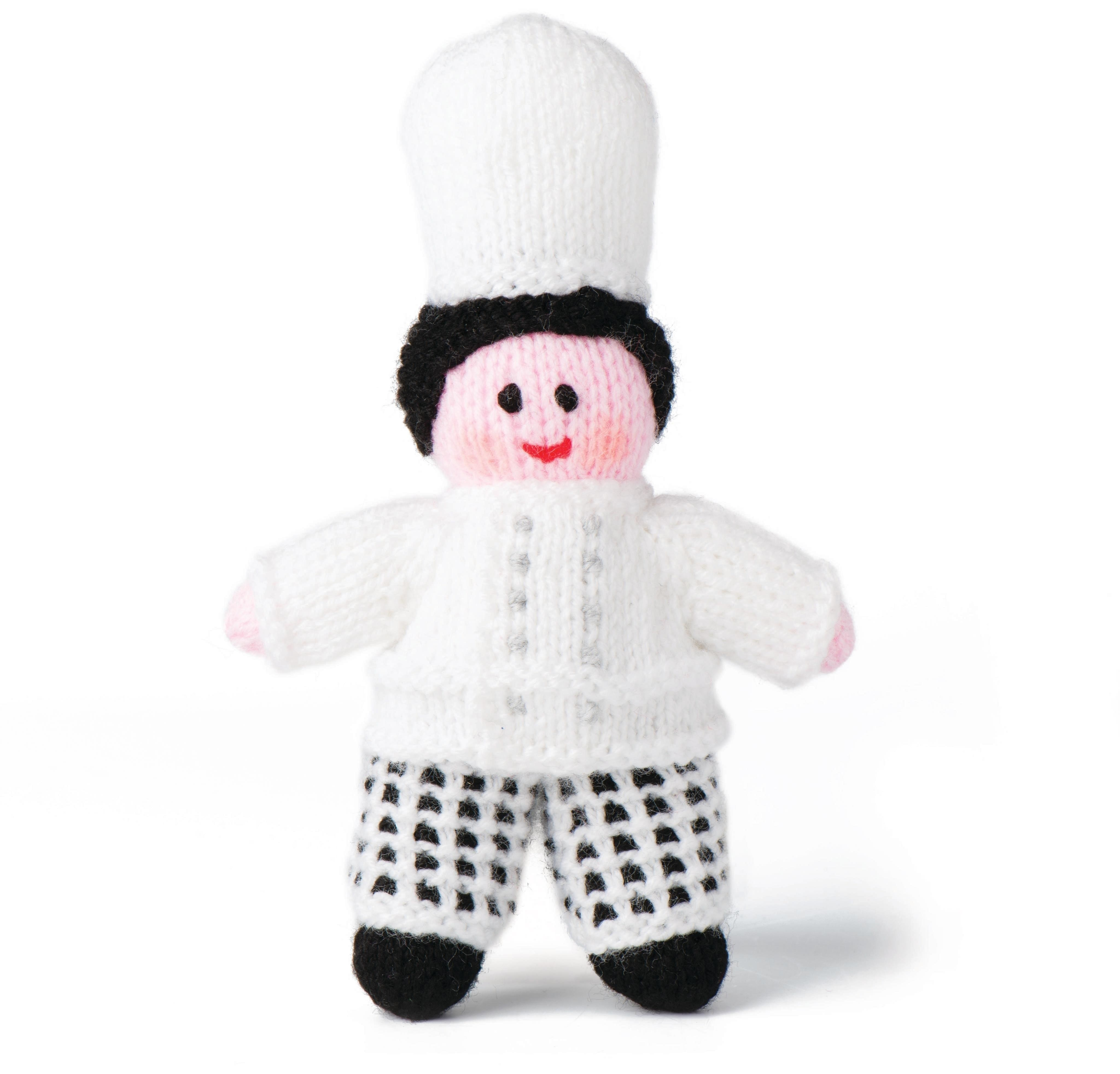 Chef · Extract from 50 Knitted Dolls by Sarah Keen · How To Make A ...