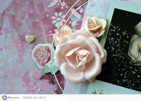 You + Me - Prima Marketing .  Free tutorial with pictures on how to make a collages in under 60 minutes by creating, papercrafting, and collage with paper. How To posted by Riikka Kovasin.  in the Papercraft section Difficulty: Simple. Cost: Cheap. Steps: 1