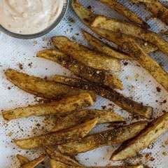 Masala Chips With Smoked Paprika & Garlic Mayonnaise