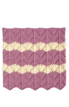 200 Ripple Stitch Patterns .  Free tutorial with pictures on how to knit  in under 60 minutes by knitting with yarn and knitting needles. How To posted by Search Press.  in the Yarncraft section Difficulty: 3/5. Cost: Cheap. Steps: 2