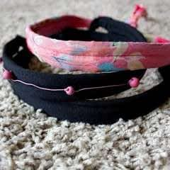 DIY Hairband And Waist Belt