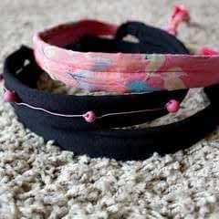 DIY Hairband And Waist Belt