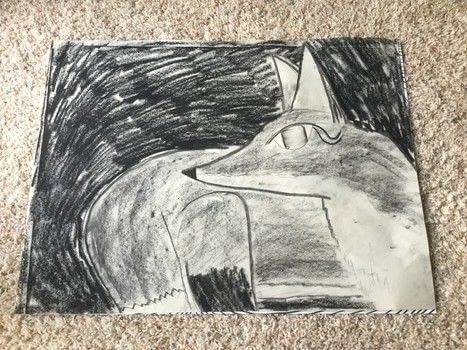 .  Draw & Paint a piece of animal art in under 50 minutes by creating and drawing with paper, charcoal, and charcoal pencils. Inspired by foxes. Creation posted by The Dark Vixen.  in the Art section Difficulty: Easy. Cost: No cost.