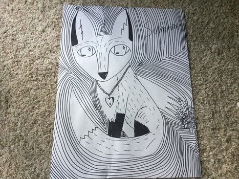 .  Draw & Paint a piece of animal art in under 30 minutes by creating and drawing with paper, pencil, and sharpie marker. Inspired by foxes. Creation posted by The Dark Vixen.  in the Art section Difficulty: Simple. Cost: Absolutley free.