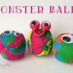 No Sew Monster Balls