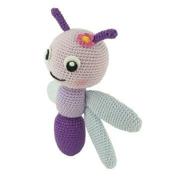 .  Free tutorial with pictures on how to make an insect plushie in 8 steps by amigurumi with felt, yarn, and yarn. How To posted by Sabrina S.  in the Yarncraft section Difficulty: Simple. Cost: No cost.