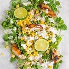 Summer Corn Salad With Jalapeno Ranch