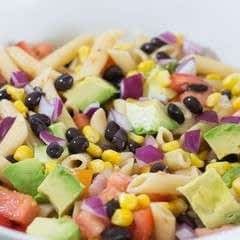 Zesty Mexican Pasta Salad