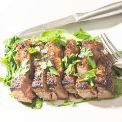 Ginger Garlic Flank Steak