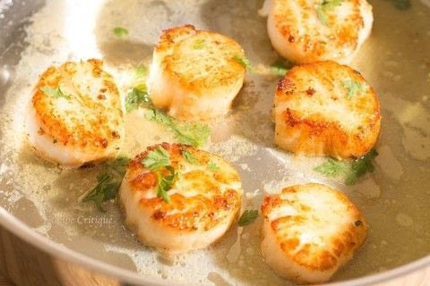 Easy Pan Seared Sea Scallops .  Free tutorial with pictures on how to cook a scallop in under 15 minutes by cooking with scallops, olive oil, and salt and pepper. Recipe posted by Cleo T.  in the Recipes section Difficulty: Easy. Cost: 3/5. Steps: 5