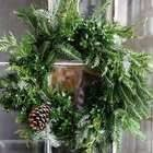 Make A Natural Christmas Wreath For Less Than $5