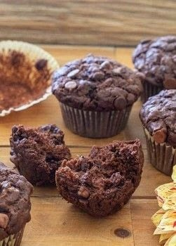 Better Than Bakery Gluten Free Chocolate Chip Zucchini Muffins .  Free tutorial with pictures on how to bake a chocolate chip muffin in under 10 minutes by baking with gluten free flour, cocoa powder, and coconut sugar. Recipe posted by Kristina  S.  in the Recipes section Difficulty: Simple. Cost: Cheap. Steps: 6