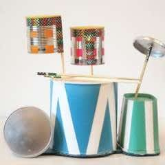 Recycled Drum Kit