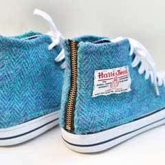 Harris Tweed Converse