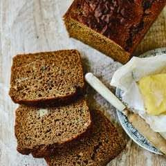 Spiced Banana Brown Bread