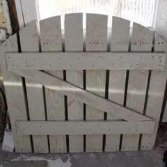 DIY Garden Gate