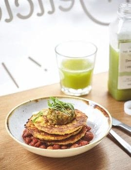 Deliciously Ella The Plant-Based Cookbook .  Free tutorial with pictures on how to cook a vegetable fritter in under 60 minutes by cooking with sweetcorn, polenta, and buckwheat flour. Recipe posted by Hodder & Stoughton.  in the Recipes section Difficulty: Simple. Cost: 3/5. Steps: 4