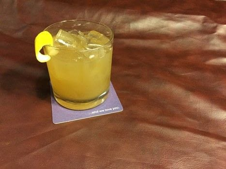 Mix The Baudin cocktail with Twelve Mile Limit in New Orleans .  Free tutorial with pictures on how to mix a bourbon cocktail in under 5 minutes by mixing drinks with bourbon, honey, and lemon juice. Recipe posted by A Bite To Eat.  in the Recipes section Difficulty: Simple. Cost: Cheap. Steps: 1