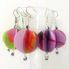 Baubble Origami Earrings