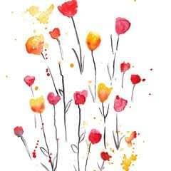 Five Minute Floral Patterns