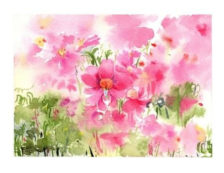 Five-Minute Watercolour .  Free tutorial with pictures on how to paint a piece of watercolor art in under 60 minutes by creating with watercolour. Inspired by flowers. How To posted by Search Press.  in the Art section Difficulty: Simple. Cost: Cheap. Steps: 5