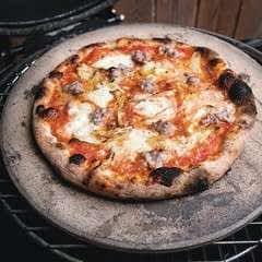 Kamado Grilled Neapolitan Pizza
