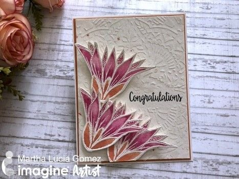 Watercolor With Fireworks Tutorial .  Free tutorial with pictures on how to paint a watercolor card in under 120 minutes by papercrafting, cardmaking, stamping, and creating with creative medium : clear, versamark ink, and memento ink. How To posted by Malu Gomez.  in the Papercraft section Difficulty: Simple. Cost: 3/5. Steps: 6