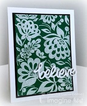.  Free tutorial with pictures on how to heat emboss  in under 120 minutes using versamark ink, embossing powder: candy green and white, and on point glue. How To posted by Malu Gomez.  in the Papercraft section Difficulty: Simple. Cost: 3/5. Steps: 7