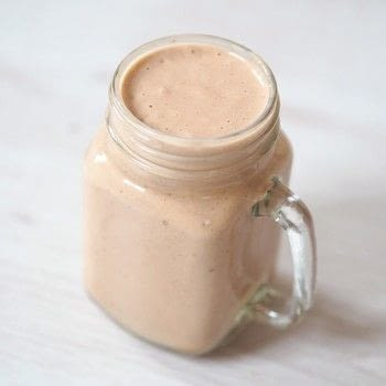 .  Free tutorial with pictures on how to mix a peanut butter smoothie in under 5 minutes by mixing drinks with banana, peanut butter, and dates. Inspired by peanut butter. Recipe posted by Hayley F.  in the Recipes section Difficulty: Easy. Cost: Absolutley free. Steps: 2