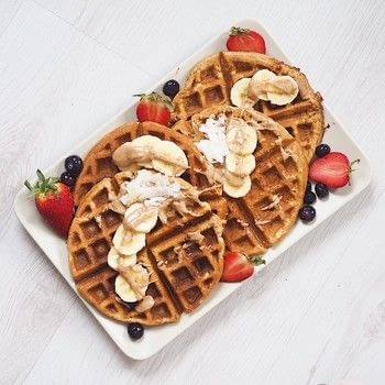 .  Free tutorial with pictures on how to cook waffle in under 15 minutes by cooking with rolled oats, banana, and chia eggs. Inspired by vegan, waffles, and peanut butter. Recipe posted by Hayley F.  in the Recipes section Difficulty: Simple. Cost: Cheap. Steps: 1