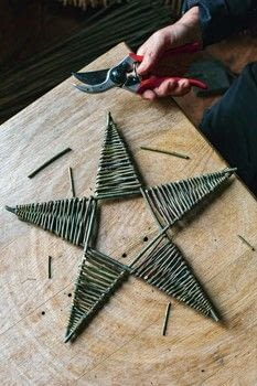 Willow .  Free tutorial with pictures on how to sculpt a wood model in under 180 minutes by decorating, weaving, and woodworking with willow, willow, and secateurs. Inspired by stars. How To posted by Aurum Press.  in the Home + DIY section Difficulty: 3/5. Cost: 3/5. Steps: 4