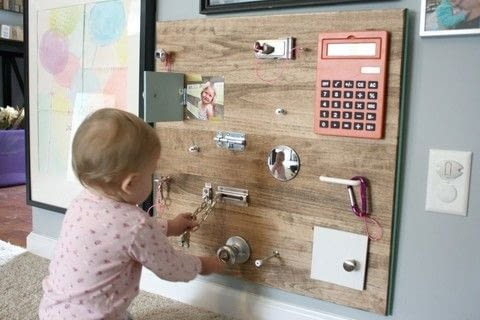 .  Free tutorial with pictures on how to make a toy in under 180 minutes by constructing with wood board (we did 2 x 2), stain or paint, and rag. Inspired by kids. How To posted by Shelly| DIY Mama.  in the Home + DIY section Difficulty: Simple. Cost: 3/5. Steps: 6