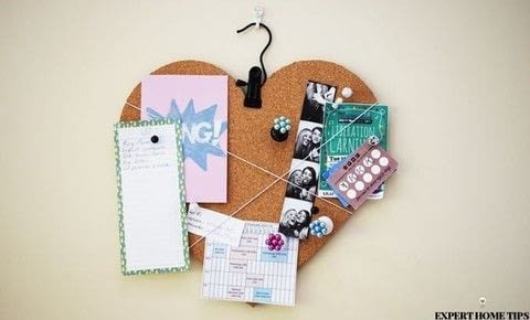 - the cute way to get organised! .  Decorate a clipboard in under 30 minutes by decorating and embellishing with beads, glue, and pins. Inspired by for girls, kitchen, and bedroom. Creation posted by steph c.  in the Home + DIY section Difficulty: Simple. Cost: Cheap.