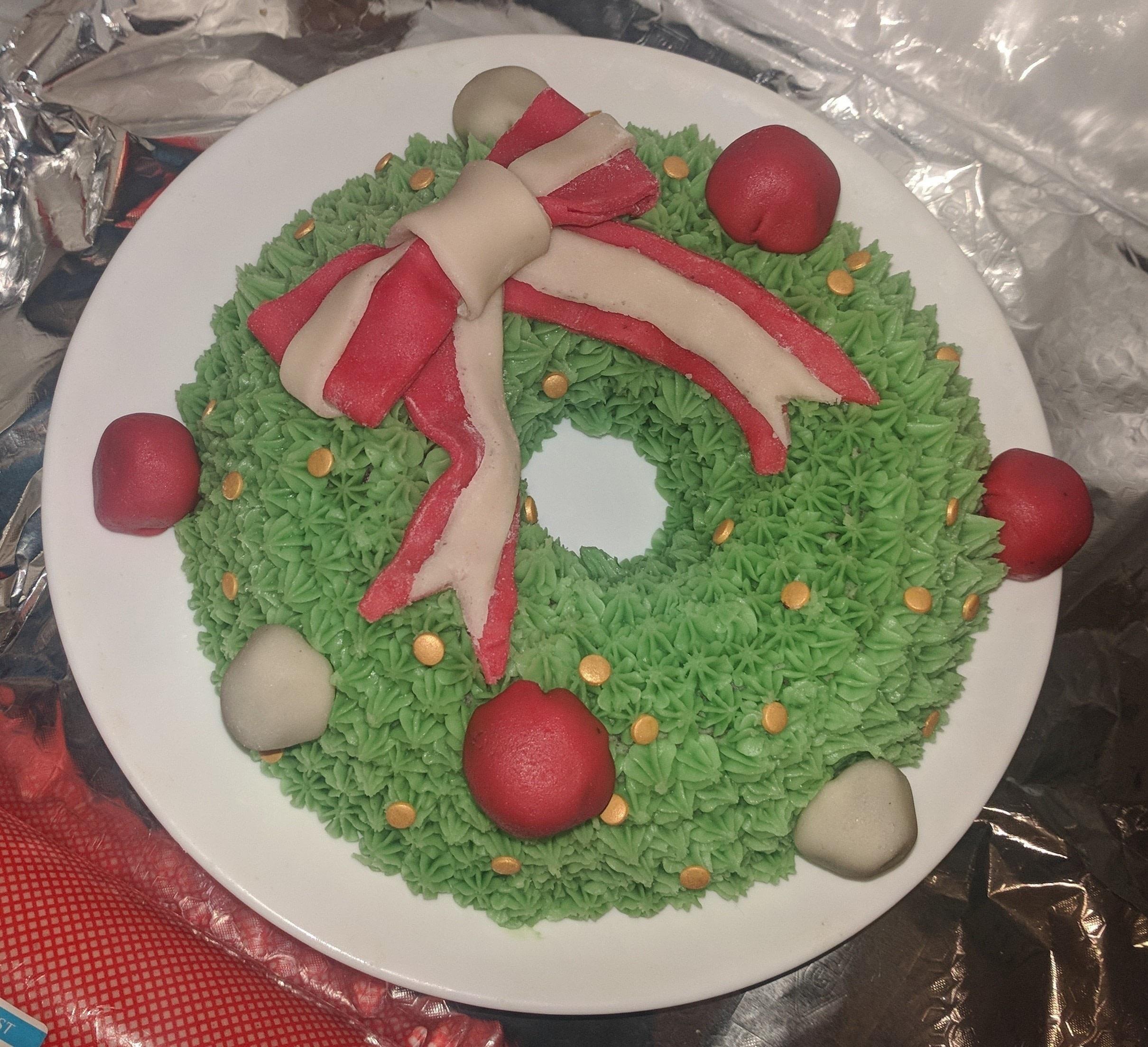 Christmas Wreath Cake · How To Bake A Bundt Cake · Recipes