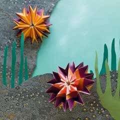 Origami Sea Anemone