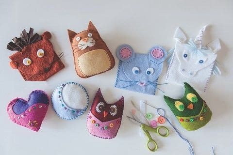 Forest Fairy Crafts .  Free tutorial with pictures on how to make a cat plushie in under 60 minutes by sewing with felt, felt, and felt. Inspired by cats. How To posted by Search Press.  in the Sewing section Difficulty: Simple. Cost: Cheap. Steps: 7