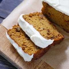 Scd Iced Pumpkin Bread